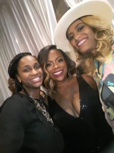 Coach Kay, Kandi Burruss & Dr. Rachael Ross (BK Convention)